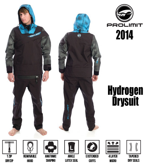 Prolimit Hydrogen Drysuit 2014